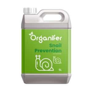 8719958994515 - Snail Prevention 5L - Concentraat voor 5000m2 - Verjagende werking op Slakken, Rupsen, Wild en Gevogelte - Voorkom Overlast en Schade - Organifer.jpg