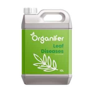 Leaf Diseases Bladziekten Concentraat - 10L voor 10.000m2 - Tegen Bladschimmels en Bladvlekken o.a. Meeldauw Roest, Bladvlekken, Blackspot en Gras Schimmel