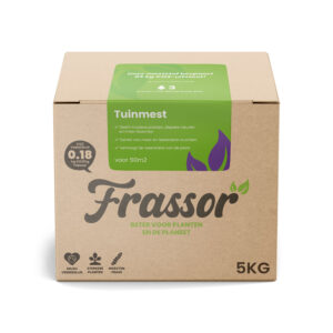 Frassor Tuinmest (5kg voor 50m2) Verrijkte Insecten Frass