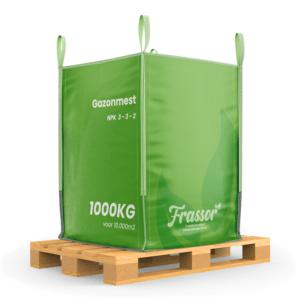 Universele Meststof (Bigbag 1000Kg – Voor 10.000m2) Insecten Frass
