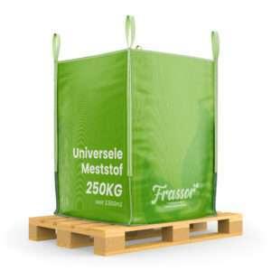 Universele Meststof (Bigbag 250Kg – Voor 2500m2) Insecten Frass