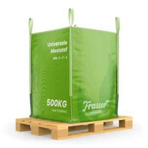 Universele Meststof (Bigbag 500Kg – Voor 5000m2) Insecten Frass