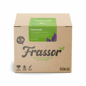Tuinmest (10kg voor 100m2) Verrijkte Insecten Frass